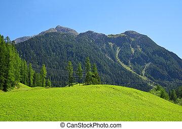 graubunden, canton, suisse