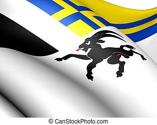 graubunden, switzerland., drapeau