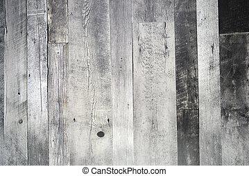 graue , licht, rustic, holz, hintergrund, täfelung