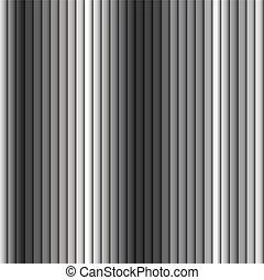 graue , muster, metall, seamless, streifen, hintergrund