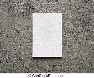 graue , papierkarte, hintergrund