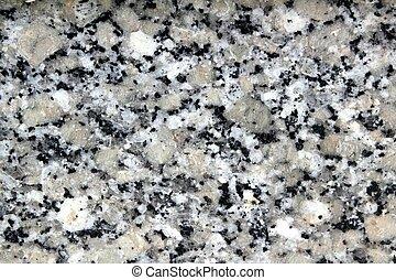 graue , steinigen textur, closeup, granit, weißes, schwarz