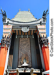 Grauman's Chinese Theate Entrance - LOS ANGELES - AUGUST 25:...