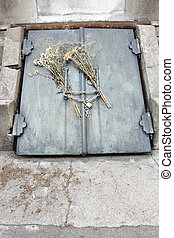 Grave in the Cemetery of Recoleta