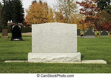 Grave Marker - An old grave marker