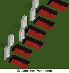 grave yard empty cemetery stone