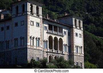 Gravedona in Lake Como, italy