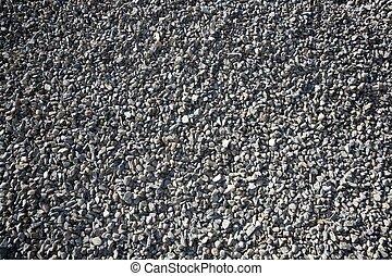 gravel closeup background gray color - gravel closeup ...