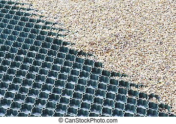 Gravel driveway protection