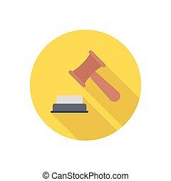gravel  flat color icon
