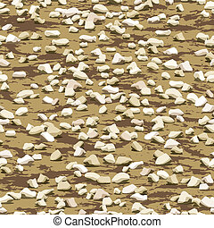 gravel on earth ground seamless texture - gravel on earth...