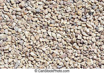 Background of broken stone - texture pattern