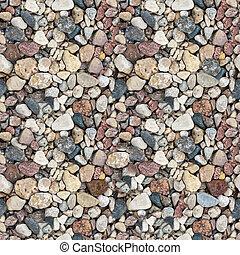 Gravel seamless texture - Coloured gravel. High-resolution ...
