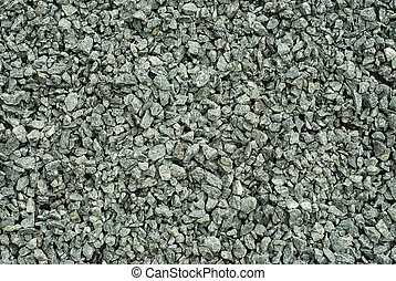 gravel, small granite stones background