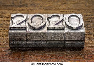 graveleux, vendange, letterpress, type, année, métal, 2020