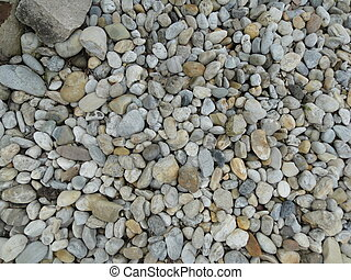 Gravels and stone