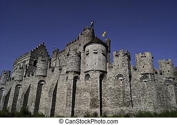 Gravensteen, the castle of Ghent