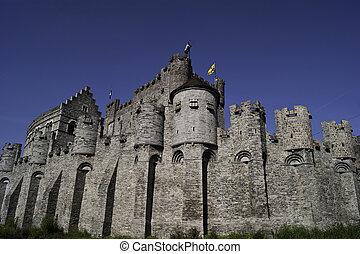 Gravensteen, the castle of Ghent