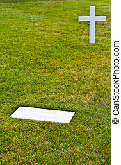 graves at Arlington national Cemetery in Washington