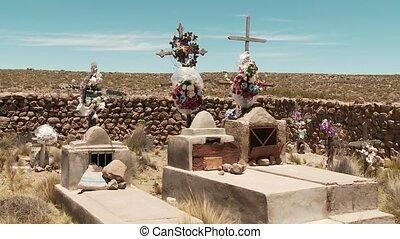 Graves, Cementery - Cementery, Southamerica, Peru