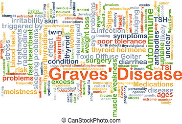 Graves' disease background concept - Background concept...
