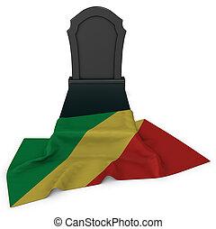 gravestone, 旗, コンゴ