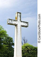 graveyard., croce