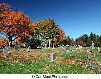 graveyard, herfst