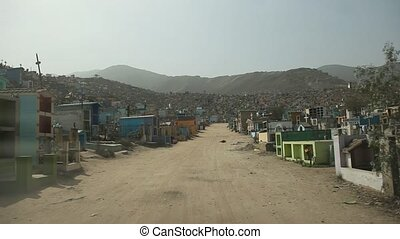 Graveyard in South America, Lima - Biggest Cemetery in...