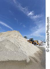 Bleu gris carri re ciel monticule gravier stockage image recherchez photos clipart - Prix gravier carriere ...