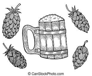 gravura, cerveja assalta