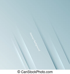 Gray 3D background. Vector illustration for your business...