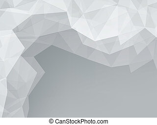 gray abstract background with space