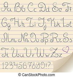 gray alphabet