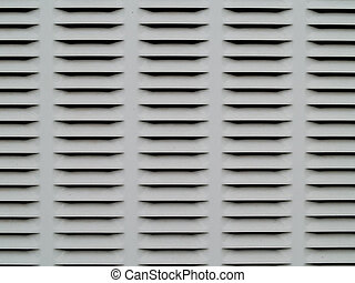 Gray and black metal ventilation grate background