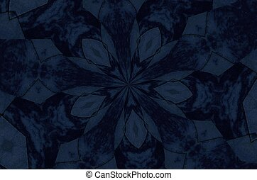 Gray and black pattern - Dark grey and black kaleidoscope ...