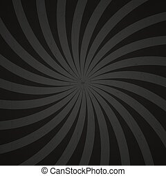 gray and black spiral vintage