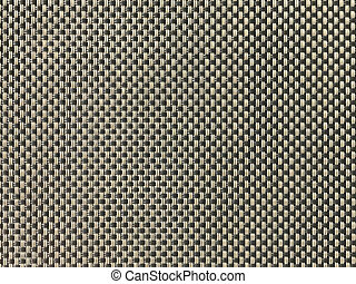 Gray and brown wooven PVC fabric texture