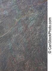gray and green slate rock background - flat, gray, fine-...