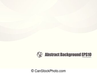 Gray and white curve abstract background