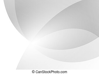 Gray and white geometric abstract background, Vector illustration with copy space