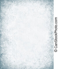 Gray and White Grunge - A mottled and textured white paper...