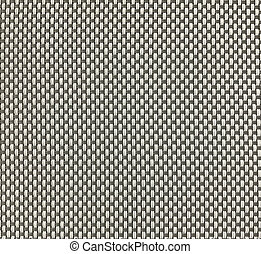Gray and white wooven PVC fabric texture