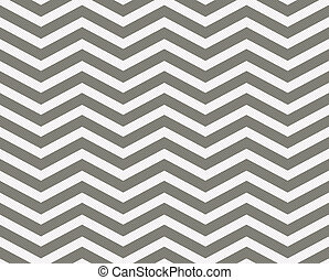 Gray and White Zigzag Textured Fabric Background that is...