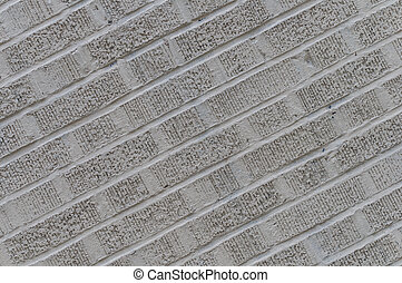 Gray angled brick wall background