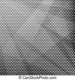 Gray background of circles