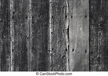 Gray background with weathered old wooden wall