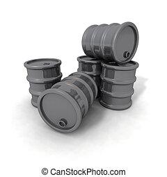 Gray Barrels