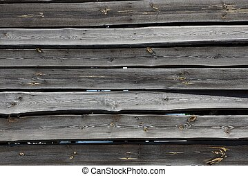 gray black wooden texture of old boards