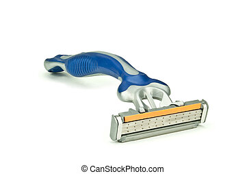 Gray-blue shaver